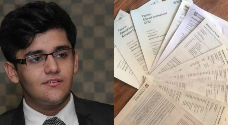 66 As In O/A Levels: Pakistani student beats world record