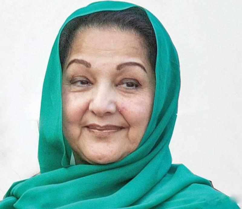 Kulsoom Nawaz to contest NA-120 by election