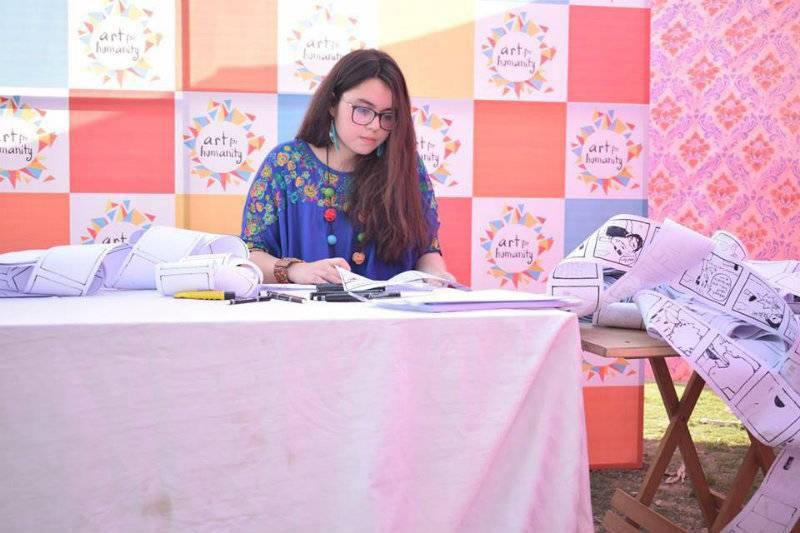 VIDEO: Pakistani girl, 20, sets Guinness World Record for Longest Comic Strip