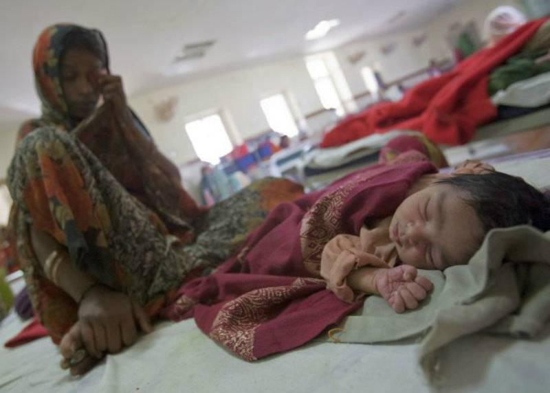 Oxygen shortage kills over 60 children in 5 days at Indian hospital