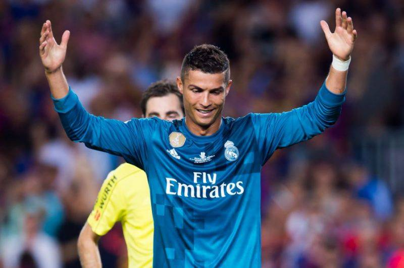 Cristiano Ronaldo hit with 5-match ban for pushing referee