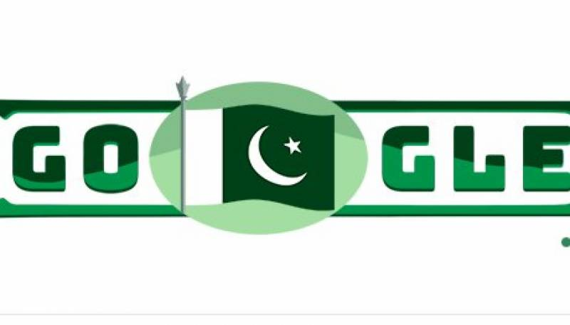 Google doodle celebrates Pakistan's 70th independence day