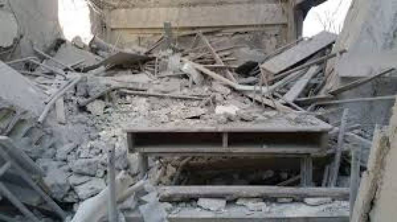 House of a militant demolished for his alleged affiliation with Daesh