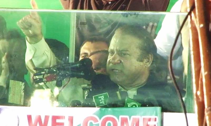LHC to take up contempt case against Nawaz Sharif on Tuesday