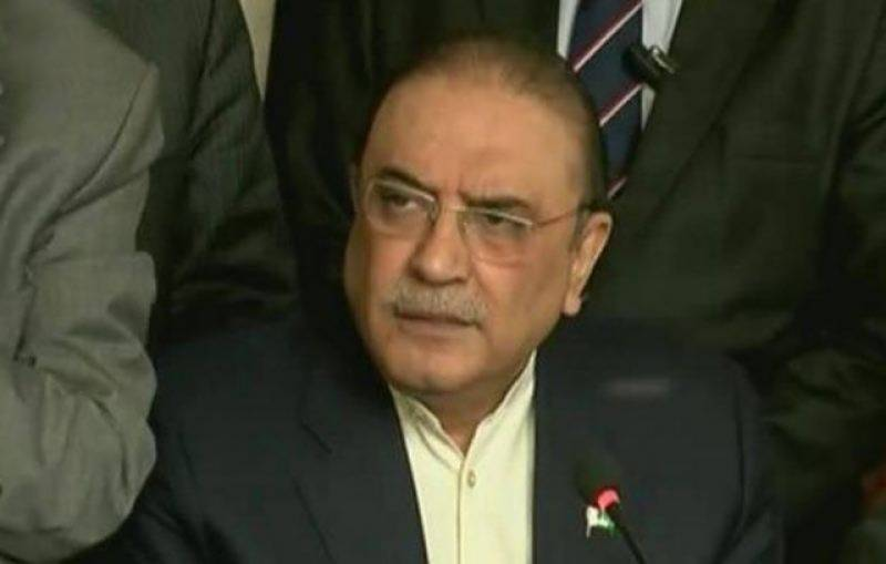 Not willing to be in contact with Nawaz Sharif any more, says Asif Zardari