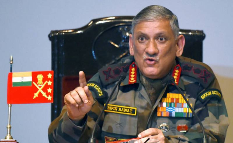 Indian army chief takes CPEC as 'challenge to sovereignty'