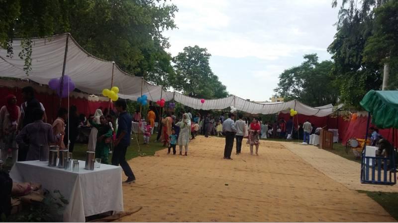Roshni Association holds carnival for special students