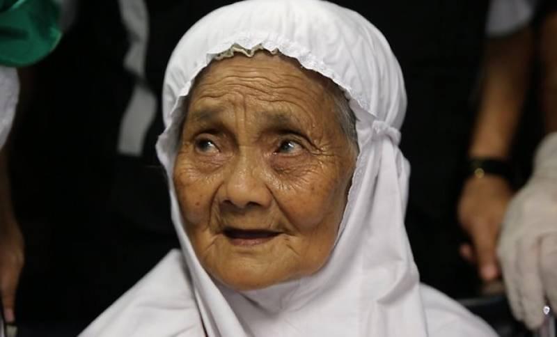 104-year-old Indonesian pilgrim thanks King Salman