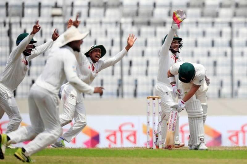 Bangladesh claim first ever Test victory against Australia