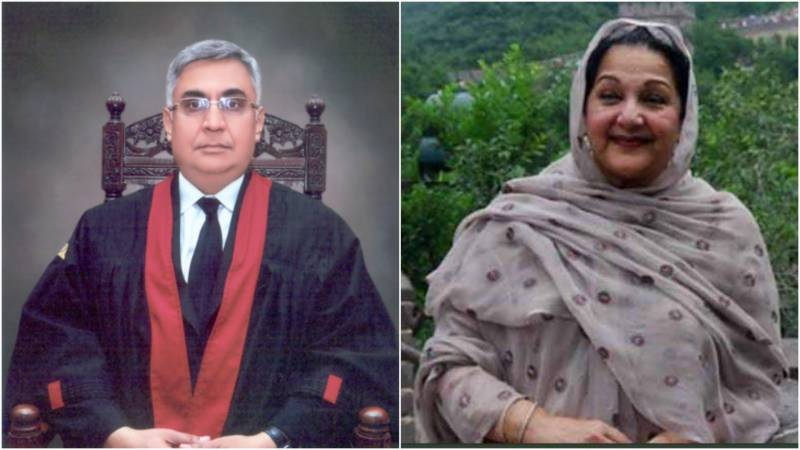 Justice Farrukh Irfan of LHC rescues himself from Kulsoom Nawaz's disqualification case