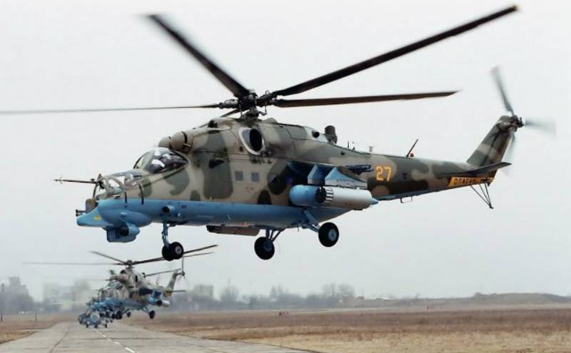 Pakistan receives four Mi-35M attack helicopters in first true weapon purchase from Russia