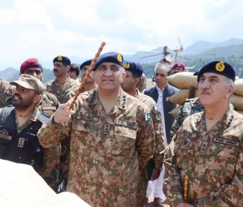 COAS Qamar Bajwa reaches Balochistan on second day of Eid