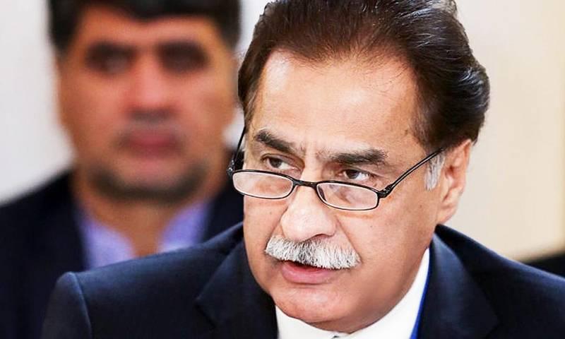 NA Spearker Ayaz Sadiq fined for overspeeding on motorway