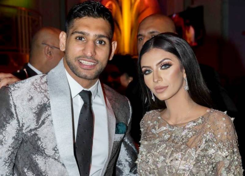 Boxer Amir Khan is finally 'cool' with Anthony Joshua after 'cheating allegations'