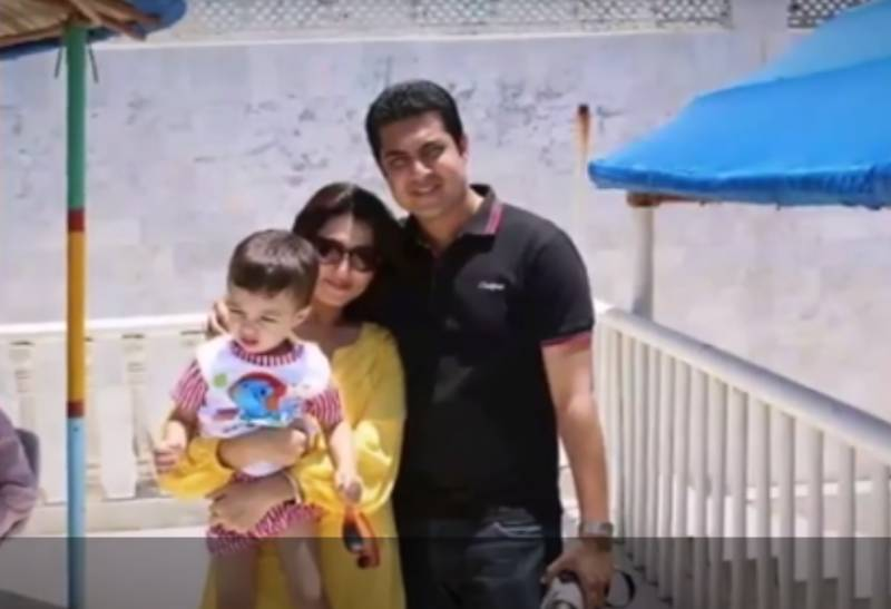 Iqrar ul Hassan is having 'family-time' with wife & kid in UK