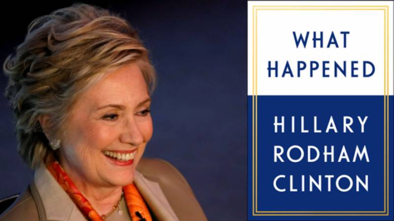 Hillary Clinton explains reasons behind her loss in new memoir