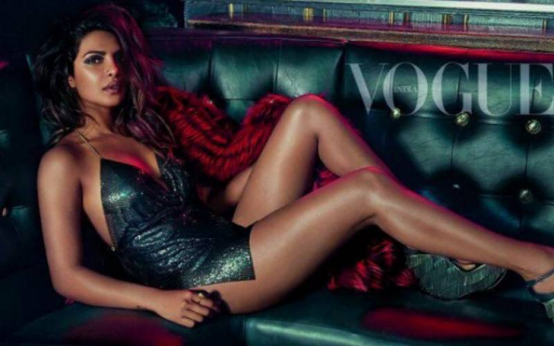 SIZZLING Priyanka Chopra is setting 'Vogue India' cover on FIRE!