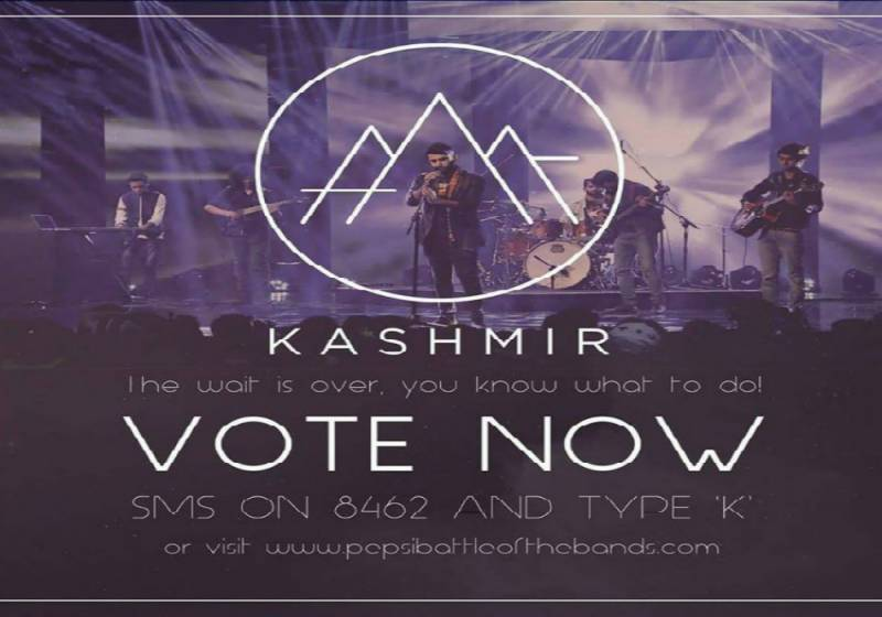 Pepsi Battle of The Bands: How to vote for 'Kashmir' band