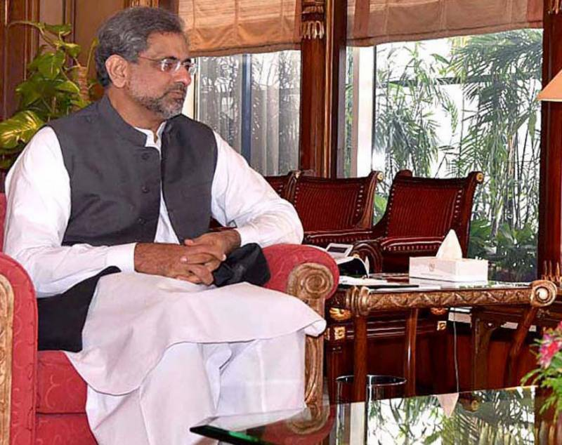 PM Abbasi for Afghan-led, Afghan-owned reconciliation process