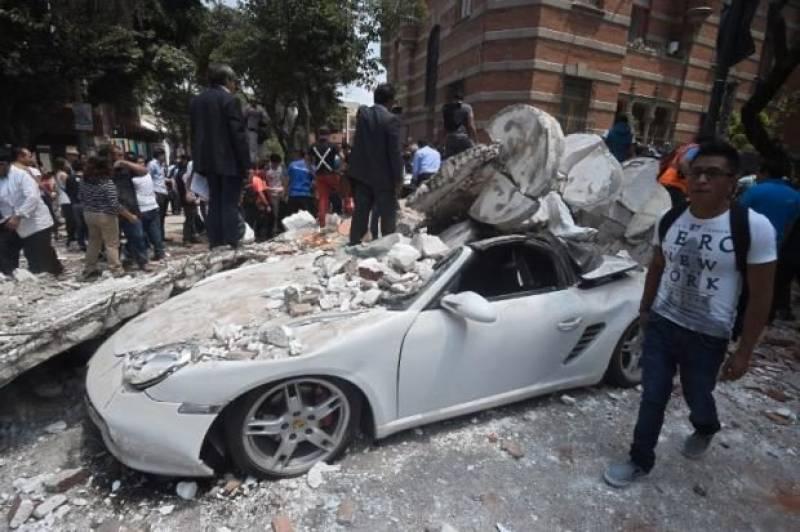 Nearly 250 dead as 7.1 magnitude earthquake jolts Mexico (PICS & VIDEOS)