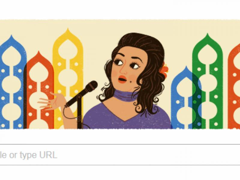 Google honours Noor Jahan with doodle on 91st birthday
