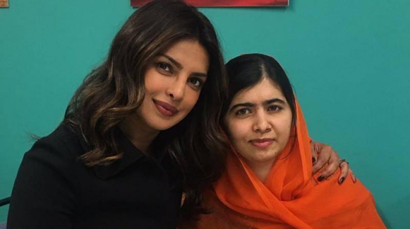 Malala Yousafzai 'can't believe' she met Priyanka Chopra at Golden Goals Awards