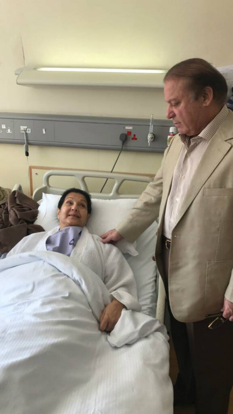 Kulsoom Nawaz discharged from hospital after third successful surgery