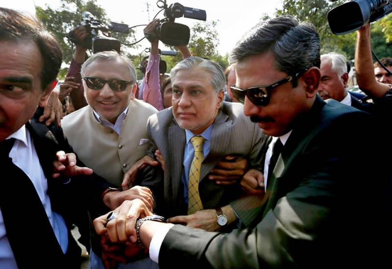 Accountability court indicts Ishaq Dar in illegal assets reference