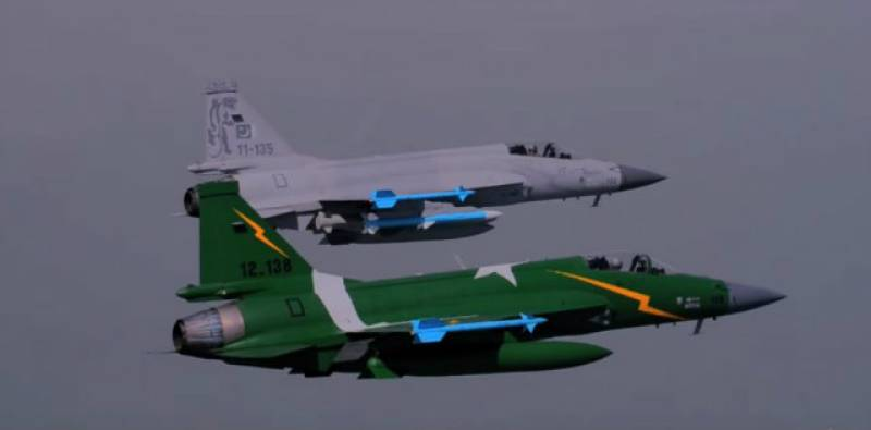 Shaheen-VI exercise: Pakistani, Chinese pilots jointly fly combat jet for the first time