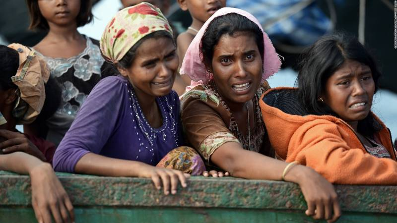 Persecution of Rohingyas; Timeline of conflict
