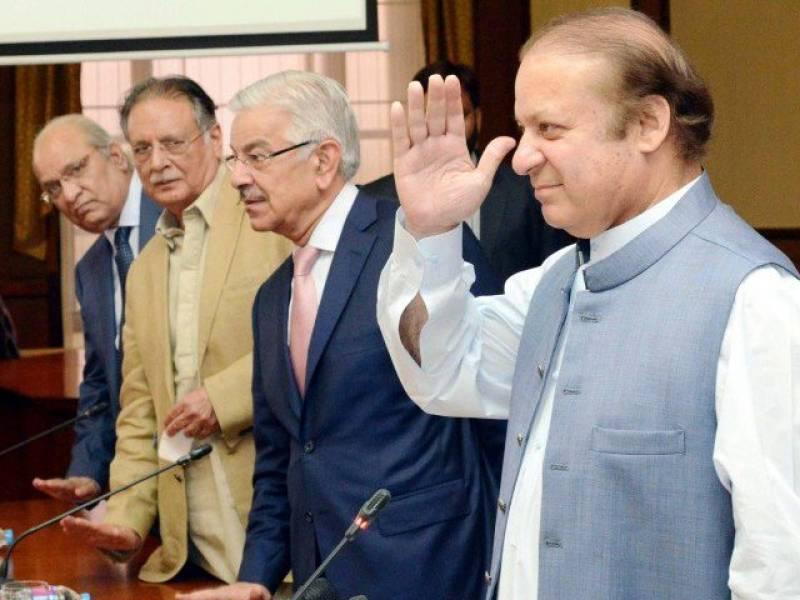 PML-N re-elects Nawaz Sharif as president
