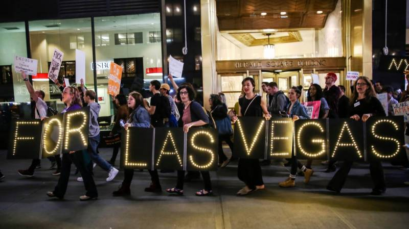 MAKE IT STOP: Celebrities show their support against Las Vegas tragedy