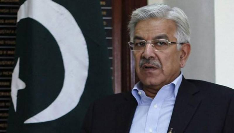 Khawaja Asif warns US against any Indian role in Afghanistan