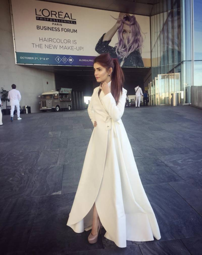 Momina Mustehsan slays at L'Oréal Pro Business forum in Seville, Spain
