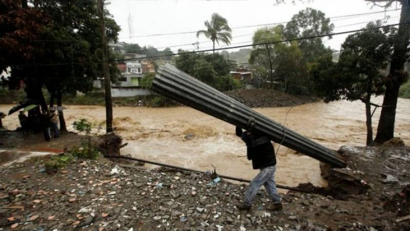 At least 22 killed after Tropical Storm Nate hits Central America