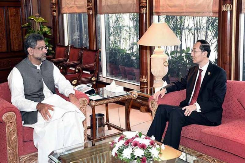 PM Abbasi lauds outgoing Chinese ambassador for further strengthening bilateral ties