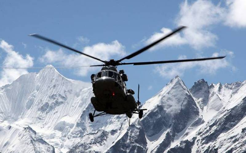 Seven killed after Indian air force helicopter crashes near China border