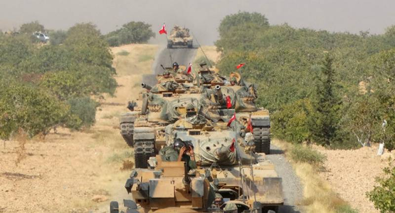 "Erdogan announces ""serious"" operation in northern Syria"