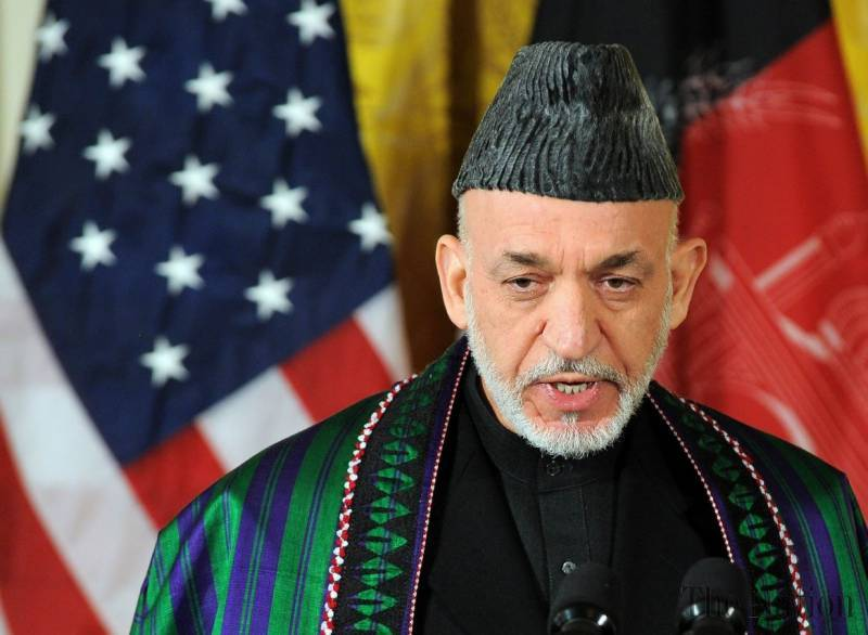 US supplying weapons to ISIS in Afghanistan, says Hamid Karzai