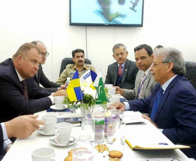 Pakistan, Ukraine to enhance cooperation in defence production