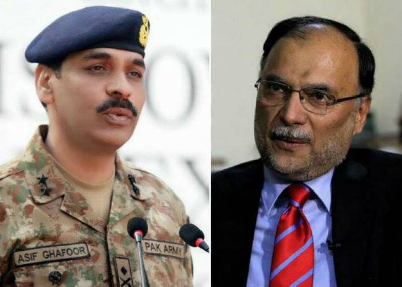 ISPR should refrain from commenting on country's economic issues: Ahsan Iqbal
