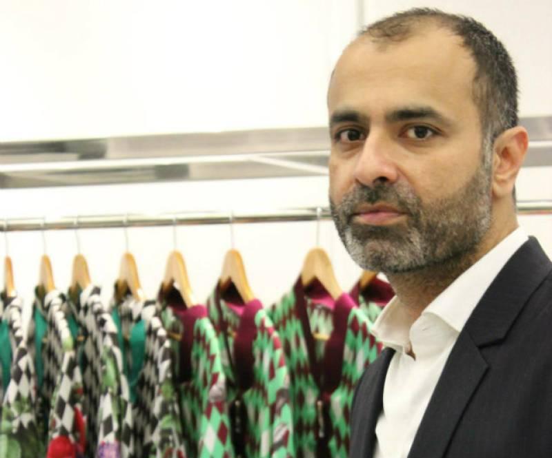 Fashion designer Deepak Perwani 'joins' MQM-Pakistan