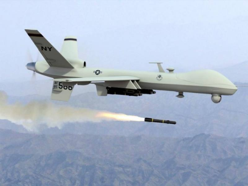 Afghan Taliban commander among five dead in US drone strikes near Pak-Afghan border