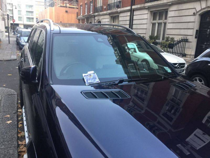 Indictment awaiting Nawaz Sharif challaned for wrong parking in London