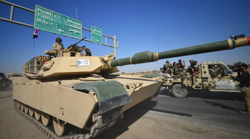 Iraqi army takes over oil-rich Kirkuk from Kurds