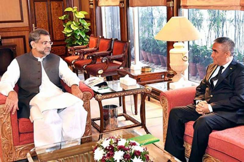 TAPI gas pipeline to help meet country's growing energy needs: PM Abbasi
