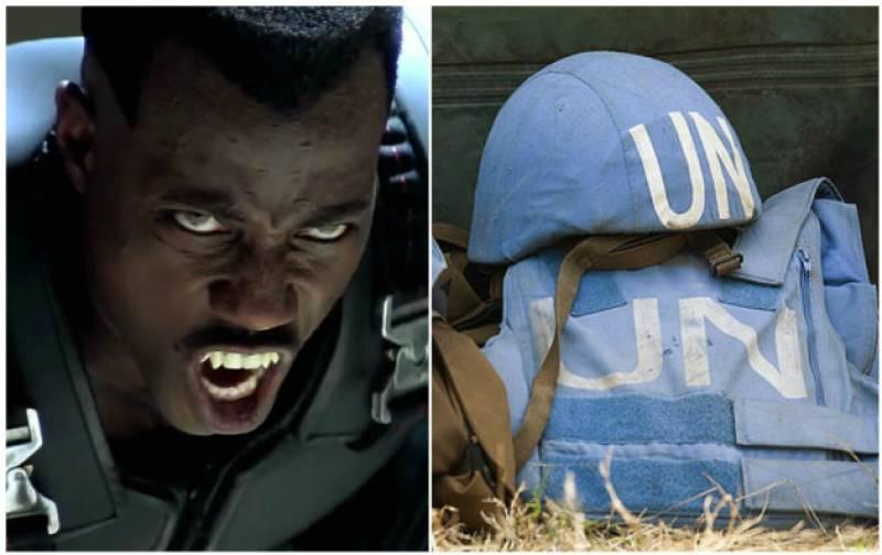 Vampire vigilantes prompt UN to pull out staff