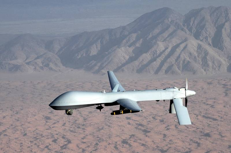 ISPR dismisses reports of drone attacks inside Pakistani territory