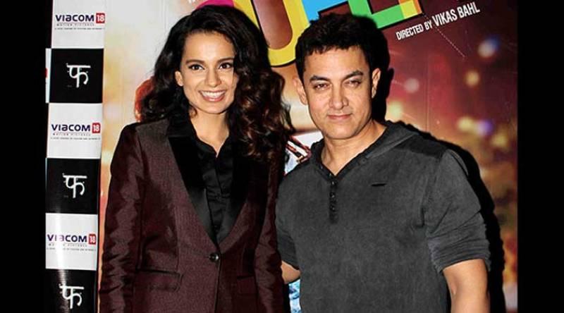 Kanagana Ranaut finds an ally in Aamir Khan