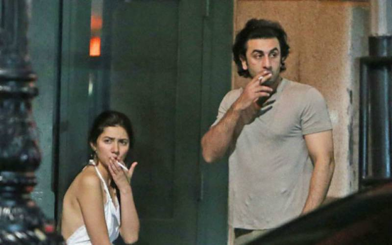 Mahira Khan breaks silence on SMOKING pictures with Ranbir Kapoor
